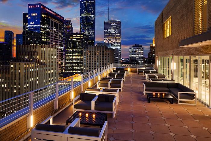 Best rooftop bars Houston
