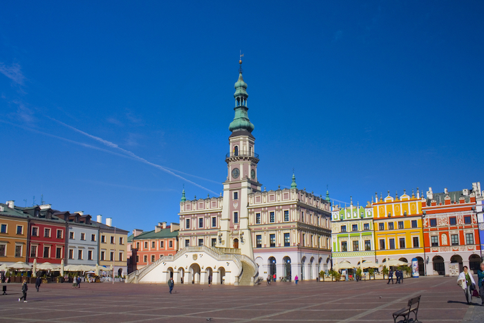 Famous monuments Poland