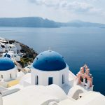 facts about the blue dome church in santorini, Greece