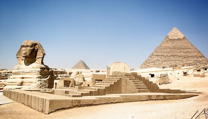 Interesting facts about the great pyramid of giza in egypt