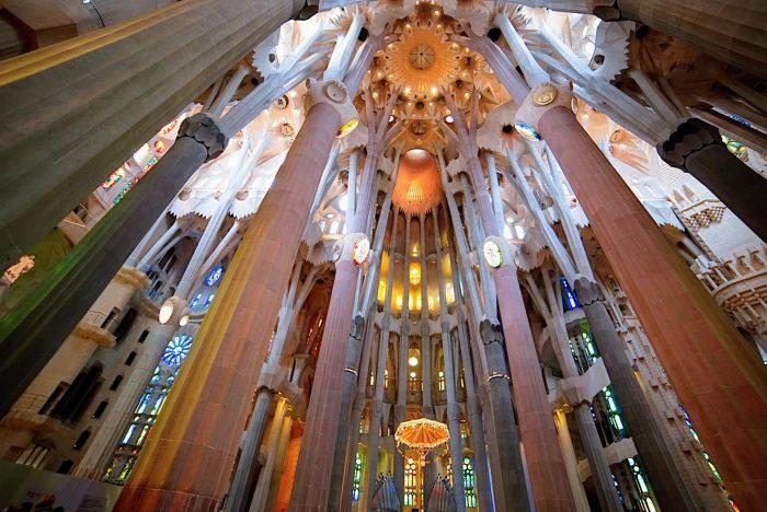 interesting facts about Sagrada Familia in Barcelona, Spain