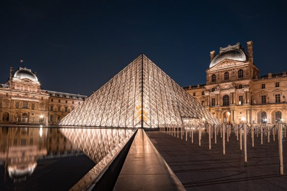 interesting facts about The Louvre in Paris, France