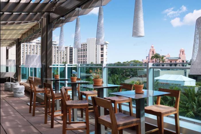 Best rooftop bars Waikiki