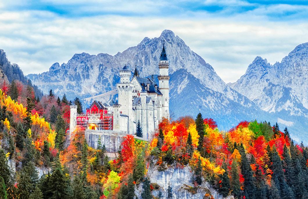 interesting facts Neuschwanstein Castle