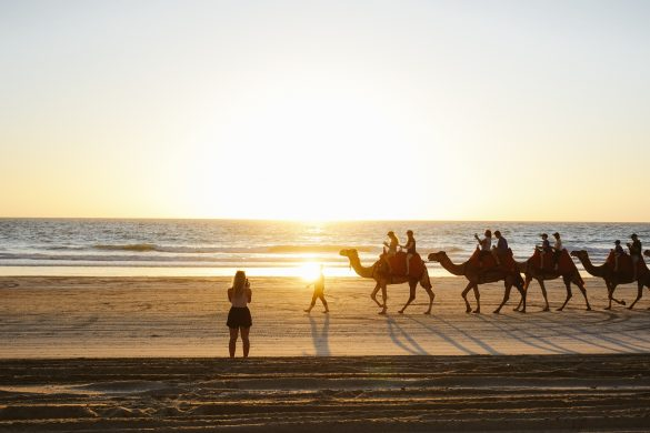 hottest places in Australia broome