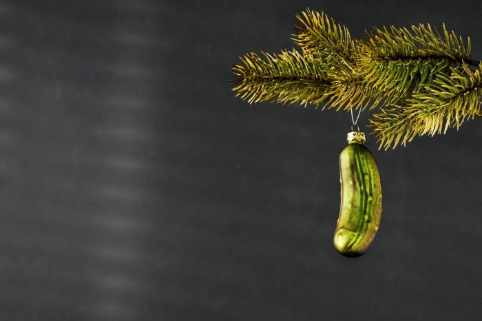 Christmas pickle unique traditions america