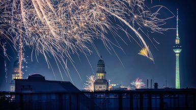 New Year's traditions Germany