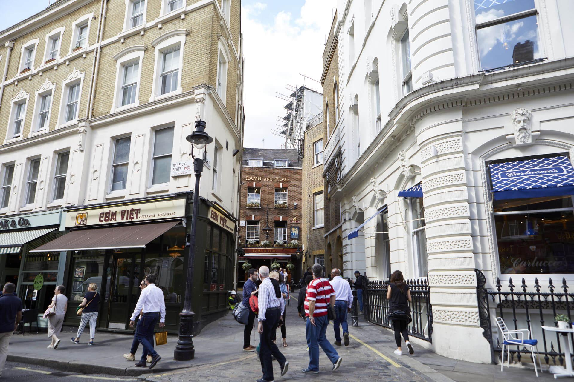 best historic pubs London