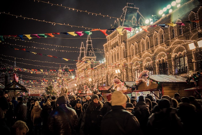 christmas traditions Russia