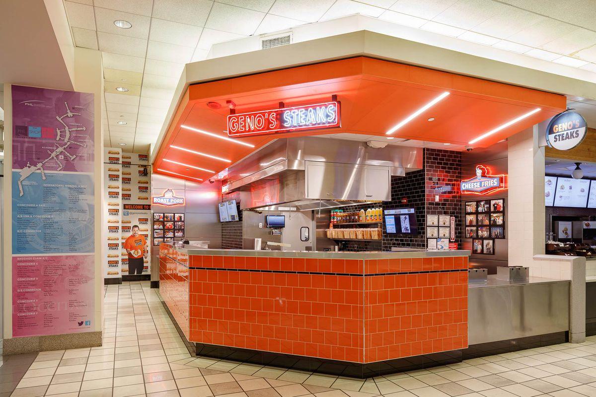 shopping at Philadelphia International Airport