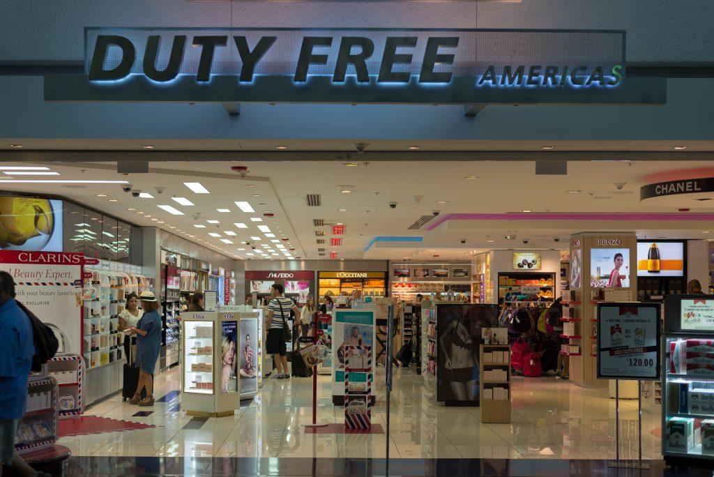 shopping at Atlanta Airport