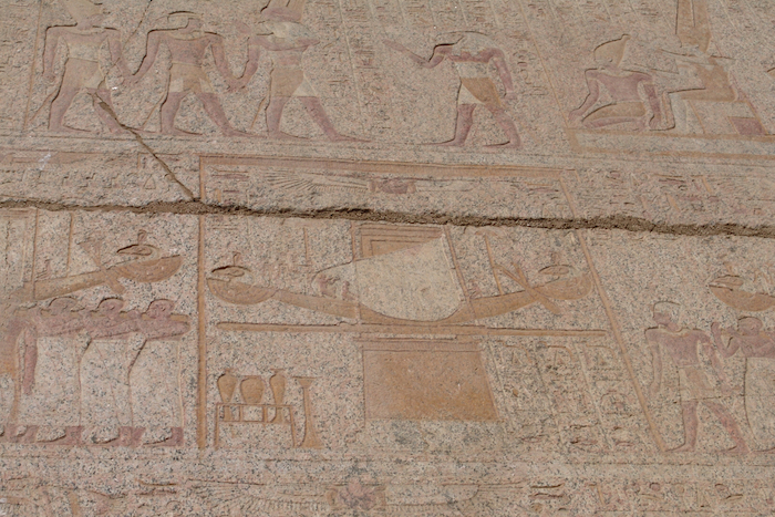 interesting facts about Luxor temple